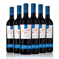 Freschello 弗莱斯凯罗 红葡萄酒 (箱装、11%vol、6、750ml)