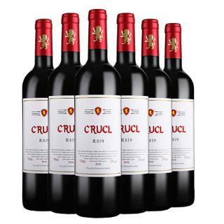Roosar 罗莎庄园 罗莎萄客R819干红葡萄酒 750ml*6瓶 整箱装 西班牙进口红酒