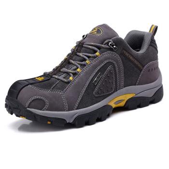 THE FIRST OUTDOOR 男款 登山鞋 灰色 842728