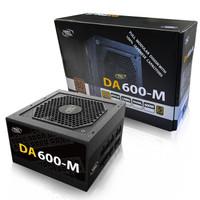 DEEPCOOL 九州风神 DA600-M 电脑电源 铜牌(85%)600W 全模组化