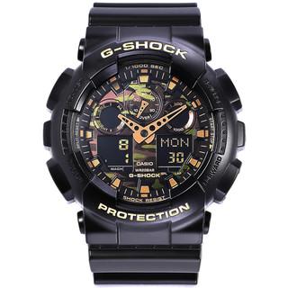 卡西欧手表男G-SHOCK黑金 GA-110GB-1A防水运动时尚