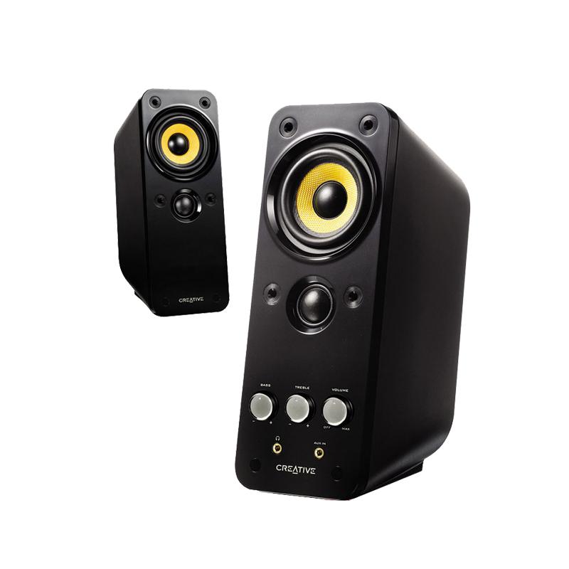 CREATIVE 创新 GigaWorks T20 Series II 多媒体音箱 (2.0、黑色)