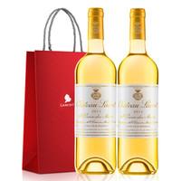 Chateau Lauret 劳雷特酒庄 圣十字山产区 副牌贵腐甜白葡萄酒 750ml*2
