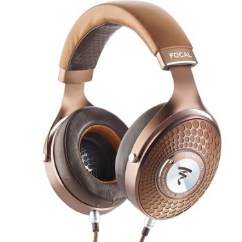 FOCAL 劲浪 HIFI专业音乐耳机 (stellia 、头戴式、巧克力色)