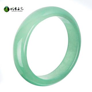 CHENGSHI YUGUANG 城市玉光 csyg3001 手镯 (0.77kg、59-61mm、绿色)