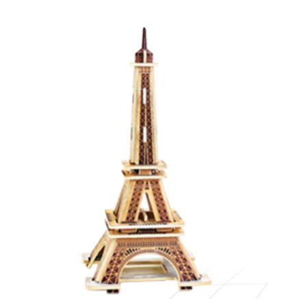 Robotime 若态 立体木质拼图 建筑款 8款可选