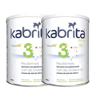 Kabrita 佳贝艾特 金装 婴儿配方羊奶粉 3段 800g 2罐装