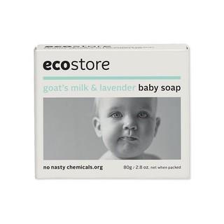 eco store 天然婴儿羊奶皂 80克 6个装