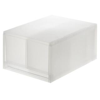 MUJI 无印良品 PP储物箱 (26*37*17.5、透明)