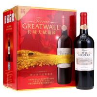 Great Wall 长城 解百纳干红葡萄酒 (箱装、13%vol、6、750ml)