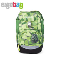 Ergobag 小学生双肩包 (男、20L、25*22*35cm、绿色)