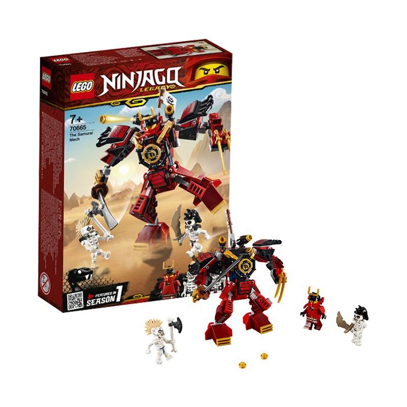 LEGO 乐高 Ninjago 幻影忍者系列 70665 武士X机甲