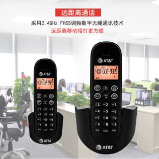 at&t EL31216CN 无绳电话机套装 (黑色)