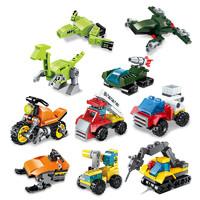 ENLIGHTEN 启蒙  锋速极变战队/超变机动队 积木玩具