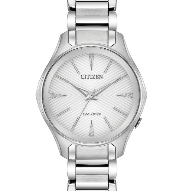 CITIZEN 西铁城 Modena EM0590-54A 女士光动能腕表