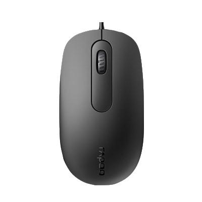 RAPOO 雷柏 N200 有线鼠标 黑色