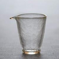 Prointxp 普智 纯手工锤纹耐热玻璃公道杯 200ml