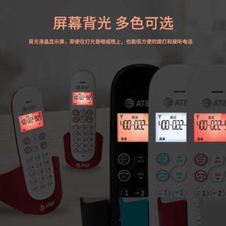 at&t EL31116CN 无绳电话机单机 (红色)