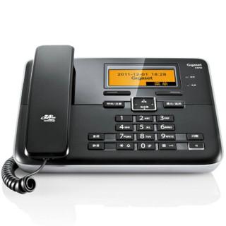 Gigaset 集怡嘉 C810 无绳电话机一拖一 (黑色)