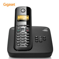 Gigaset 集怡嘉 C585 无绳电话单机 (黑色)