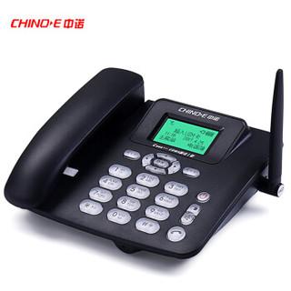 CHINOE 中诺 C265 无线插卡电话机 (黑色)