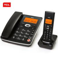 TCL D60 无绳子母套机 (黑色)