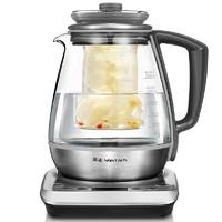 NiNTAUS 金正 S6 电热煮茶器 (1.8L、不锈钢拉丝)