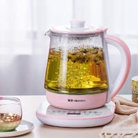NiNTAUS 金正 JZW-1512A 电热烧水壶 (1.8L、粉色)