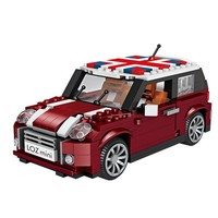 LOZ 俐智 1111 MINI汽車模型積木