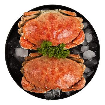 XIANGTAI 翔泰 冷冻 加拿大进口熟冻黄道蟹 (400g、1只盒装)