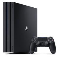 新低46357日元 约2732元 索尼 sony PS4 Pro机身硬盘 1TB CUH-7100BB01 黑色主机+手柄