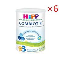 HiPP 喜宝 Bio 有机益生菌婴儿奶粉 标准3段 900g 6罐装