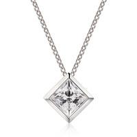 AFFINER 阿菲娜 AFP2012 冰之骄子 925银锆石项链