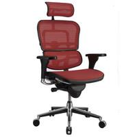 Ergonor 保友办公家具 S-HAM S-HAM电脑椅 酒红色 (人体工学椅、网布、54*66*82)