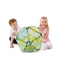 Hape 创意拼搭地球套 益智竹制儿童玩具