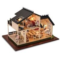 智趣屋 DIY小屋手工拼装房子1032 普罗旺斯