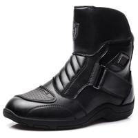 强人 男士托车骑行防护越野靴子 JDMT01