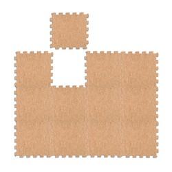 小米有品 180°可折弯天然软木地垫