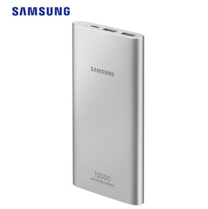 SAMSUNG 三星 EB-P1100CSEGWW 移动电源 (双向快充、Type-C输入、多口输出、 11300mAh、银色)