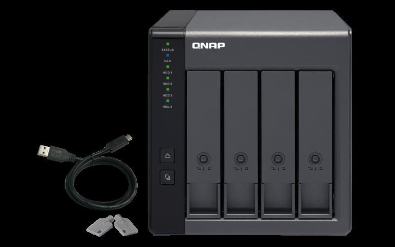 QNAP 威联通 TR-004 USB3.0RAID盒网络存储服务器磁盘阵列外接盒