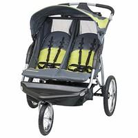 Baby Trend  Expedition Double DJ96710 大轮慢跑双座椅儿童推车 碳色