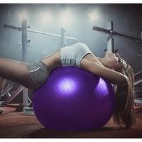 中欧 健身瑜伽球 55cm 送配件