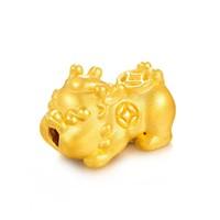 赛菲尔 3D硬金 黄金貔貅转运珠