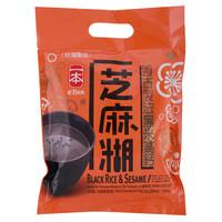 中国台湾进口 一本 黑米高钙芝麻糊(固体饮料)300g(10包*30g)/袋 *5件