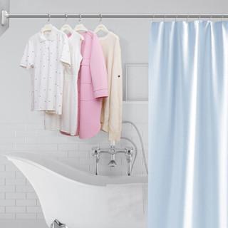 浴帘杆 赠浴帘、挂环  110-200cm WGY-1318