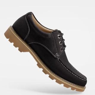 小米有品 七面 男士防水牛皮户外工装休闲鞋