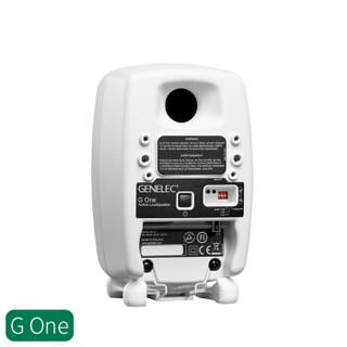 GENELEC 真力 G1 HIFI有源音箱芬兰制造 (单声道、白色)