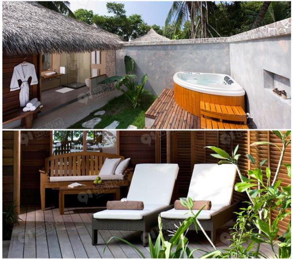 全国多地-马尔代夫库拉玛提岛7天5晚(2晚沙屋+2晚水屋+早中晚餐)