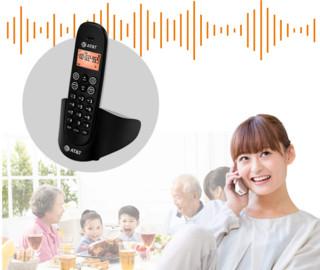 at&t EL31116CN 无绳电话机单机 (黑色)