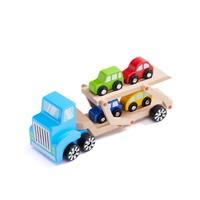 BEVA 贝瓦 拼装类拖车玩具套装